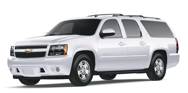 Tahoe Elite's Chevrolet Suburbans provide all-wheel drive transportation to and around Lake Tahoe